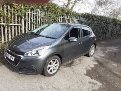 Peugeot 208 1.6 BlueHDi Active 5dr Hatchback Diesel GreyPeugeot 208 1.6 BlueHDi Active 5dr Hatchback Diesel Grey at Victoria Motors Morley